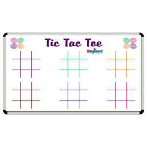 Tic Tac Toe Game Board Size 3 ft x 2 ft