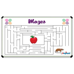Mazes Game Board Size 3 ft x 2 ft