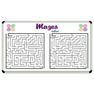 Mazes Game Board Size 1.5 ft x 2 ft
